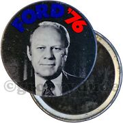1976 Gerald Jerry Ford And03976 For President Political Campaign Pin Pinback Button
