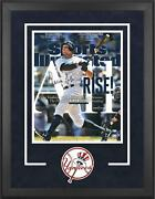 Aaron Judge Yankees Dlx Frmd Signed 16 X 20 All Rise Sports Illustrated Photo