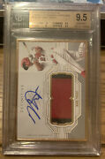 2020 Topps Definitive Mike Trout Gold Framed Patch Auto /10 Gem Mint Bgs 9.5/10