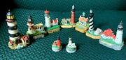 Collectable Mini Lighthouse Statues - Sold Individually