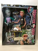 Nrfb Deuce Gorgon And Gil Webber Monster High Mansters 2014 Exclusive New In Box