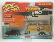 Johnny Lightning 50 Years Tow And Go Jeep Cherokee Xj Sport And Bbq Trailer 2019 New