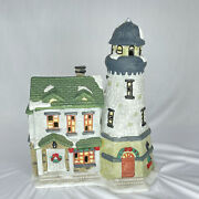 1997 Dickens Collectables Christmas Village Lighted Lighthouse