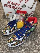Size 13 - Nike Sb Dunk High Pro X Concepts Ugly Christmas Sweater 2017