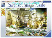 Collection Jigsaw High Seas War 5000 Puzzles Adult Decompression Sealed Rare