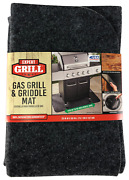 Under Grill Griddle Bbq Mat Protects Deck Patio Stain Resistant Machine Washable