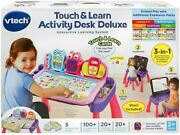 New Vtech 3-in-1 Touch And Learn Activity Desk Deluxe - Pink -