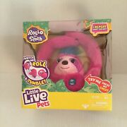 Little Live Pets Rollo The Sloth - Bendable Arms, Movement, Reacts To Sounds,