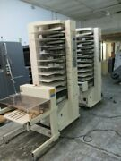 Cp Bourg - 2 X 10 Station Air Tower Collator And Stacker