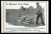 1972 Jacobsen Power And Rotary Lawn Mower Photo Vintage Print Ad