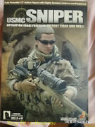 Hot Toys U.s. Forces Usmc Sniper Military Model Action Figure Toys Out Of Print