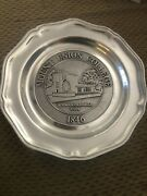 Mount Union College Rodman-grandall Cope 1846 Metal Collectible Plate