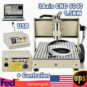 Usb 3axis 1.5kw Cnc 6040 Router Engraver Machine Pcb Drilling Carving Machine