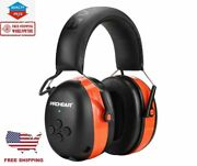 Bluetooth Safety Noise Canceling Ear Muffs Hearing Protection Shooting Headset