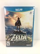 The Legend Of Zelda Breath Of The Wild Wii U 2017 Brand New Sealed Authentic