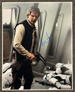 Harrison Ford Han Solo Star Wars Signed 16x20 Photo Autographed Auto Psa/dna Loa