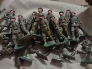 Vintage Ww2 Lead Toy Soldiers British American Army Troops Occupied Japan Rare
