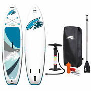 F2 Comet 10' 5'' Sup Set Stand Up Paddle Board All-round Blue/white