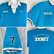Fc Zenit Hulk Russia Football Embroidered 7 Polo Jersey Xl / Large 44 Pride