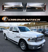 2010-2013 Pre-facelift Dodge Ram Chrome Tow Mirror Covers