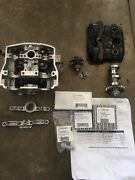 2008 Ktm 450 Xcf Head Cam Towers Intake And Exhaust Cams And Valve Cover