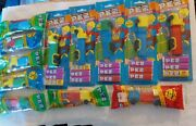 Pez Candy Dispensers Lot Of 12 Trucks On Cards And In Bags