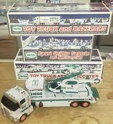 Hess Gas Station Collectable Diecast And Plastic Toy Trucks