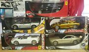 Lot Of 5 Hot Wheels 1/18 Scale Sports Cars And Super Cars. See Description