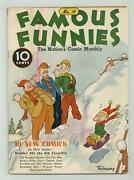 Famous Funnies 19 Vg/fn 5.0 1936