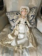"""Queen Anne Large Janice May Doll Approx 20"""" Excellent Condition"""