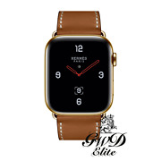 Series 6 Hermes Apple Watch 22k Gold Plated 40mm Custom Rare Body Only