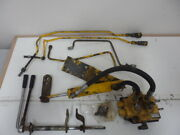 Cub Cadet Dual Hydraulic Valve And Lift Cylinder Kit W/ Dual Handles Wide Frame