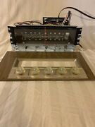 Vintage Magnavox Consol Stereo Tuner Am/fm With Vacuum Tubes Free Shipping