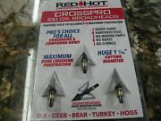 Parker Red Hot Crosspro 100gr Broadheads