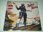 Brian May - Mad Max Soundtrack Exclusive Red And Gray Haze Color Vinyl Lp /750