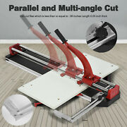 23-32 In Professional Manual Tile Cutter Porcelain Floor Tiles Cutting Machine