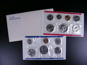 U.s. Coins - 1981 Uncirculated Set With 2 Susan B Ant Dollars - 13 Coins  Gs136