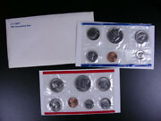 U.s. Coins - 1981 Uncirculated Set With 2 Susan B Ant Dollars - 13 Coins  Gs135