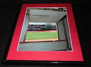 View From Inside Fenway Park Green Monster Framed 11x14 Photo Display Red Sox