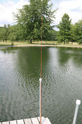 South Bend 59 3 Pc Split Bamboo 9 Ft Fly Fishing Rod Vintage Exec Cond Free S/h