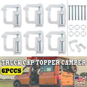 Truck Clamps Fit Mounting Caps Camper Shell Topper Canopy Heavy Duty Aluminum