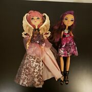 Monster High Ever After C.a. Cupid And Briar Thronecoming Rare By Mattel