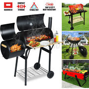 Outdoor Bbq Barbecue Grill Charcoal Stove Camping Garden Backyard Me