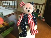 Mint Ty Beanie Baby 1999 Andldquospangle Bear Retired Pink Face Pe Pellets