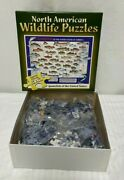 North American Wildlife Game Fish Of The Usa 550 Piece Jigsaw Puzzle