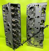 Pr And039441and039 Chevy 76cc 350 Sbc Performance Cylinder Heads 1986 And Older .500 Springs