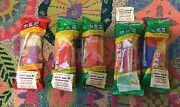 Set Of 5 Avis Promotional Pez Dispensers Mid-1980and039s New In Original Package