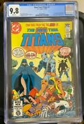 New Teen Titans 2 Cgc 9.8 White Pages 1st App Deathstroke Slade Wilson 1980 Key