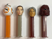 Star Wars Pez Candy Holders Toys Set Of Four