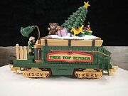 Tree Top Tender New Bright Holiday Express Animated Electric Train Car
